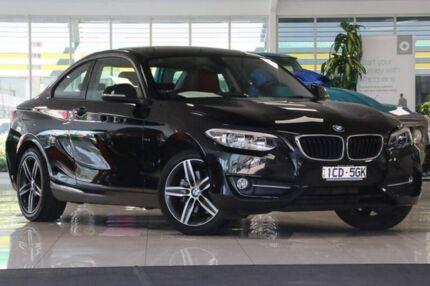 2014 BMW 220i F22 Sport Line Black 8 Speed Sports Automatic Coupe