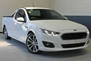 2016 Ford Falcon FG X XR6 Ute Super Cab White 6 Speed Sports Automatic Utility Nailsworth Prospect Area Preview
