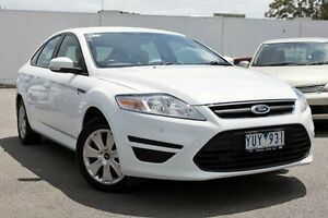 2011 Ford Mondeo MC LX PwrShift TDCi White 6 Speed Sports Automatic Dual Clutch Hatchback Dandenong Greater Dandenong Preview