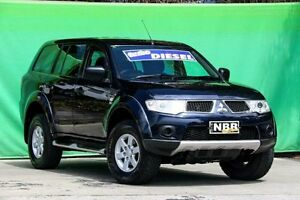 2011 Mitsubishi Challenger PB (KH) MY11 LS Dark Blue 5 Speed Sports Automatic Wagon Ringwood East Maroondah Area Preview