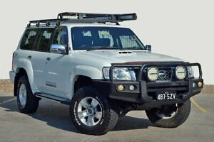 2010 Nissan Patrol GU 7 MY10 ST White 4 Speed Automatic Wagon Kedron Brisbane North East Preview
