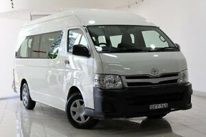 2011 Toyota Hiace TRH223R MY11 Commuter High Roof Super LWB French Vanilla 4 Speed Automatic Bus Waterloo Inner Sydney Preview