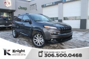 2018 Jeep Cherokee North 4x4 V6 | Heated Seats and Steering Whee