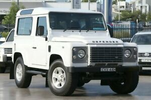 2014 Land Rover Defender 90 14MY White 6 Speed Manual Wagon Penrith Penrith Area Preview
