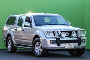 2007 Nissan Navara D40 ST-X Silver 5 Speed Automatic Utility Ringwood East Maroondah Area Preview