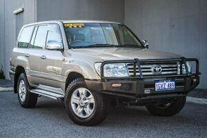 2007 Toyota Landcruiser UZJ200R VX Gold 5 Speed Sports Automatic Wagon