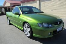 2002 Holden Ute VY SS Crystal Green Metallic 6 Speed Manual Utility Wangara Wanneroo Area Preview