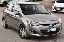 2012 Hyundai i20 PB MY12 Active Grey 4 Speed Automatic Hatchback Myaree Melville Area Preview