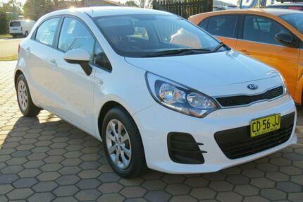 2015 Kia Rio UB MY15 S White 4 Speed Automatic Hatchback Belconnen Belconnen Area Preview