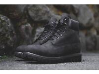 Brand new TIMBERLAND BOOTS BLACK SIZE 7