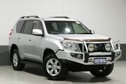 2015 Toyota Landcruiser Prado KDJ150R MY14 GXL (4x4) Silver 5 Speed Sequential Auto Wagon Bentley Canning Area Preview