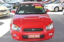2004 Subaru Impreza MY05 GX (AWD) Red 4 Speed Automatic Sedan Mitchell Gungahlin Area Preview