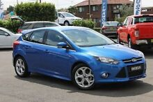 2015 Ford Focus LW MKII MY14 Sport PwrShift Blue 6 Speed Sports Automatic Dual Clutch Hatchback Wolli Creek Rockdale Area Preview
