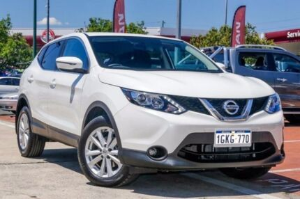 2017 Nissan Qashqai J11 TS White 1 Speed Constant Variable Wagon