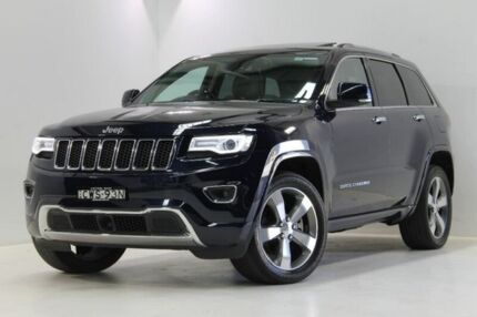2014 Jeep Grand Cherokee WK MY15 Overland Blue 8 Speed Sports Automatic Wagon
