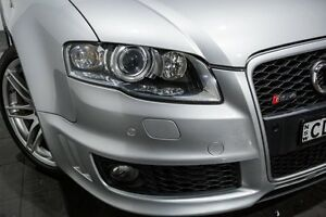 2007 Audi RS4 B7 Quattro Silver 6 Speed Manual Cabriolet Rozelle Leichhardt Area Preview