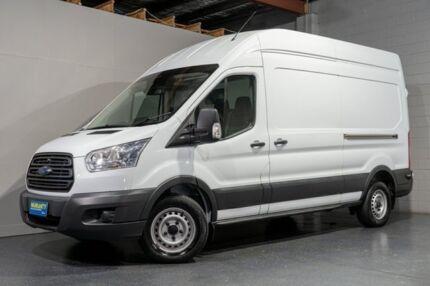 2014 Ford Transit VO MY14.5 350L LWB Mid Roof White 6 Speed Manual Van Woodridge Logan Area Preview