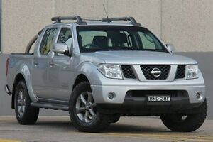 2009 Nissan Navara D40 Titanium Edition (4x4) Silver 6 Speed Manual Dual Cab Pick-up Wolli Creek Rockdale Area Preview
