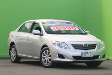 2007 Toyota Corolla ZRE152R Ascent Silver 6 Speed Manual Sedan Ringwood East Maroondah Area Preview