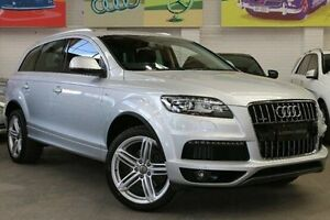 2013 Audi Q7 MY13 TDI Tiptronic Quattro Silver 8 Speed Sports Automatic Wagon Southbank Melbourne City Preview