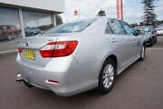 2015 Toyota Aurion GSV50R AT-X Silver 6 Speed Sports Automatic Sedan Cardiff Lake Macquarie Area Preview