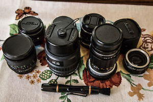 Asahi Pentax Lens Bundle, All in Amazing Condition