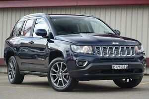2014 Jeep Compass MK MY14 Limited (4x4) Blue 6 Speed Automatic Wagon Homebush Strathfield Area Preview