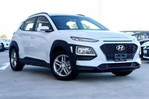 2018 Hyundai Kona OS MY18 Active 2WD White 6 Speed Sports Automatic Wagon Blacktown Blacktown Area Preview
