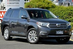 2013 Toyota Kluger GSU45R MY12 Grande AWD Grey 5 Speed Sports Automatic Wagon Narre Warren Casey Area Preview