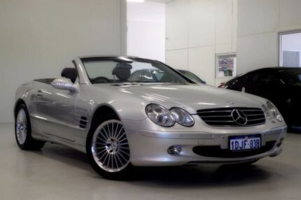 2002 Mercedes-Benz SL500 R230 Silver 5 Speed Sports Automatic Roadster Myaree Melville Area Preview