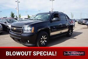 2010 Chevrolet Avalanche 4X4 CREWCAB LT Accident Free,  Bluetoot