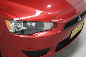 2011 Mitsubishi Lancer CJ MY11 SX Red 5 Speed Manual Sedan