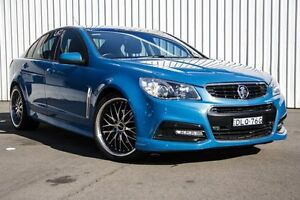 2014 Holden Commodore VF MY14 SS Blue 6 Speed Sports Automatic Sedan Kings Park Blacktown Area Preview