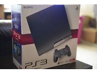 Playstation 3 console in original box