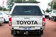 2012 Toyota Hilux KUN26R MY12 SR Double Cab Silver 4 Speed Automatic Utility Balcatta Stirling Area Preview