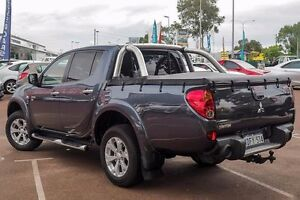 2010 Mitsubishi Triton MN MY11 GLX-R Double Cab Grey 5 Speed Manual Utility Wilson Canning Area Preview