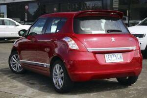 2014 Suzuki Swift FZ MY14 GLX Navigator Red 4 Speed Automatic Hatchback