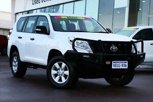 2014 Toyota Landcruiser Prado KDJ150R MY14 GX White 5 Speed Sports Automatic Wagon Wangara Wanneroo Area Preview
