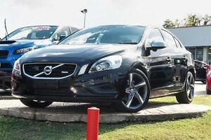 2013 Volvo S60 F Series MY13 T6 Geartronic AWD R-Design Black 6 Speed Sports Automatic Sedan Yeerongpilly Brisbane South West Preview