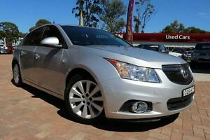 2013 Holden Cruze JH MY14 Equipe Silver 5 Speed Manual Hatchback Campbelltown Campbelltown Area Preview