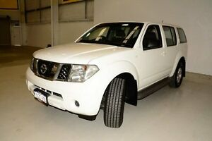 2009 Nissan Pathfinder R51 MY08 ST White 5 Speed Sports Automatic Wagon Edgewater Joondalup Area Preview