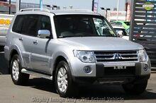 2009 Mitsubishi Pajero NT MY09 Exceed White 5 Speed Sports Automatic Wagon Seaford Frankston Area Preview