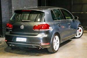 2010 Volkswagen Golf VI MY10 GTI DSG Grey 6 Speed Sports Automatic Dual Clutch Hatchback