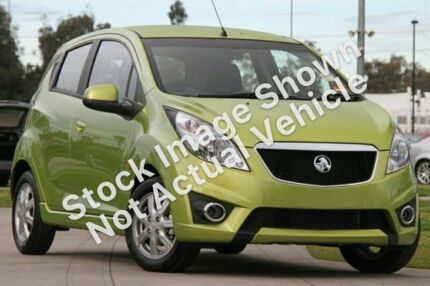 2011 Holden Barina Spark MJ MY11 CD Green 5 Speed Manual Hatchback Durack Palmerston Area Preview