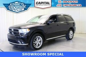 2016 Dodge Durango Limited AWD*Leather-Sunroof-Navigation-DVD*