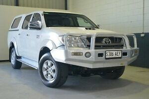 2009 Toyota Hilux KUN26R MY10 SR5 White 4 Speed Automatic Utility Hillcrest Port Adelaide Area Preview