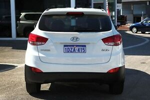 2012 Hyundai ix35 LM MY11 Active White 6 Speed Sports Automatic Wagon Victoria Park Victoria Park Area Preview
