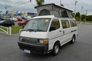 1998 Toyota Hiace CHEAP CHEAP CAMPER White 5 Speed Manual Campervan East Rockingham Rockingham Area Preview