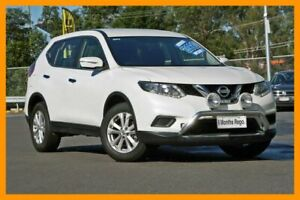 2016 Nissan X-Trail T32 ST X-tronic 4WD White 7 Speed Constant Variable Wagon Hillcrest Logan Area Preview
