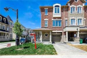 Excellent And Beautiful Corner Town House Like Semi-Detached!